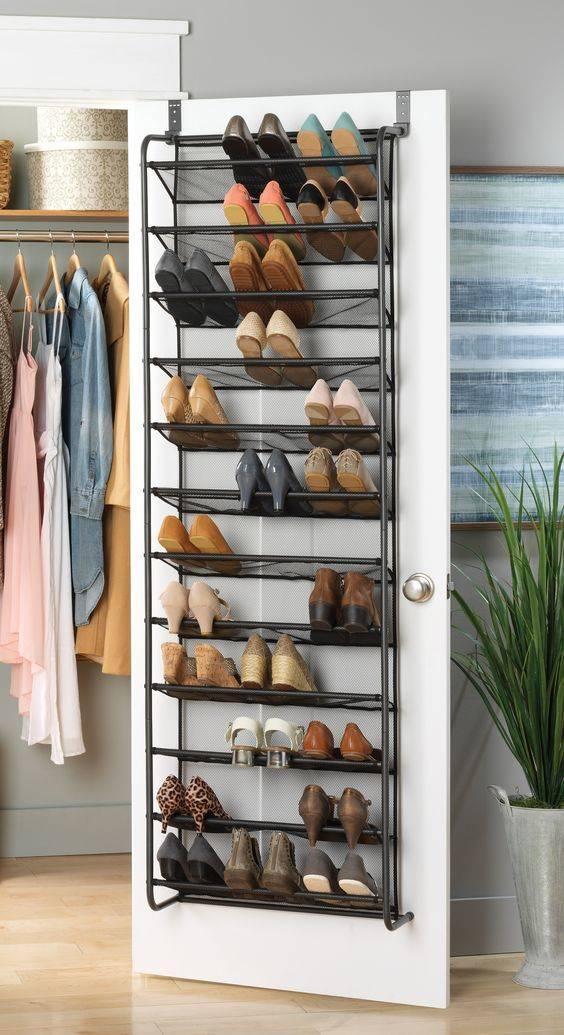 Door Mesh Shoe Rack - Maximising Space