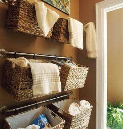 Cheap and Easy - Bathroom Storage Ideas for Small Spaces