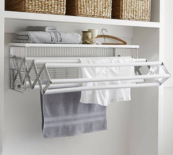 A Drying Rack - Attached to the Wall