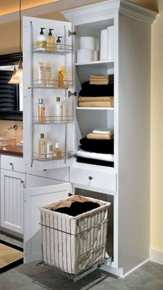 Resourceful and Practical - Shelves on Doors