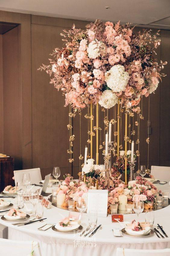 Creating a Gorgeous Centrepiece - Perfect for Weddings