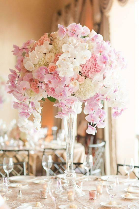 All About Orchids - Wedding Table Decoration Ideas