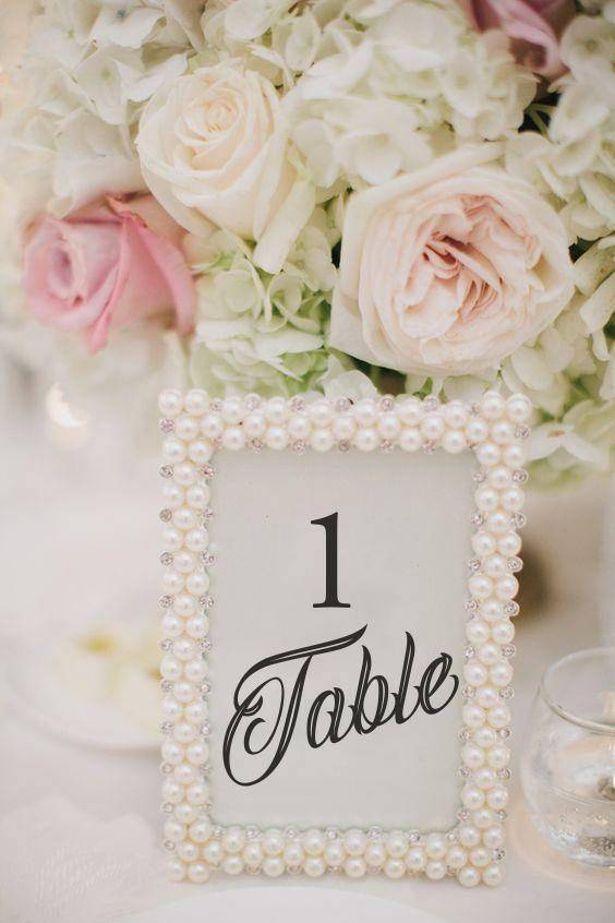 Table Numbers - An Important Detail