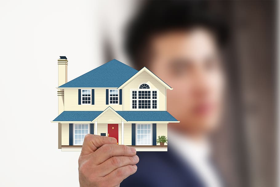 house, property, hand, keep, businessman, presentation, offer, real estate, building, architecture