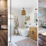 20 MASTER BATHROOM IDEAS – Modern Master Bathroom Designs