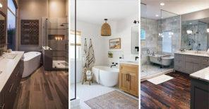 20 MASTER BATHROOM IDEAS - Modern Master Bathroom Designs