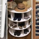 20 SHOE STORAGE IDEAS FOR SMALL SPACES – Shoe Storage Spaces for Small Closets