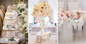 40 WEDDING TABLE DECORATION IDEAS - Simple Wedding Decoration Ideas