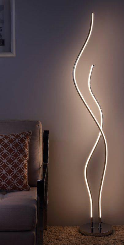 Wonderful Led Waves - Bedroom Floor Lamps