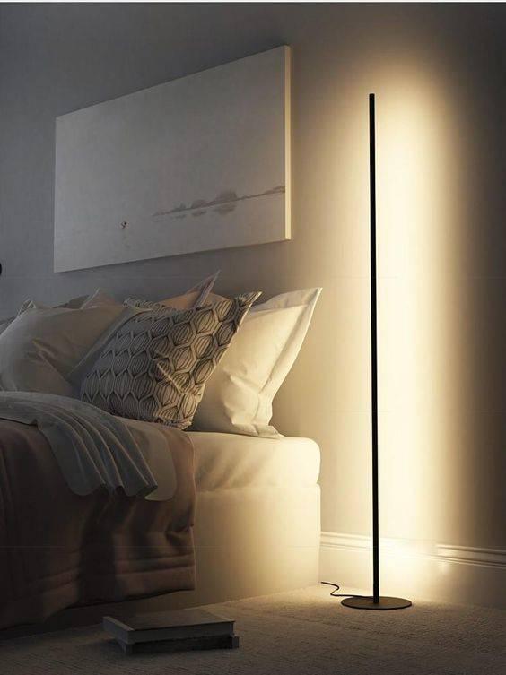 A Minimalist Floor Lamp - Simplistic and Effortless