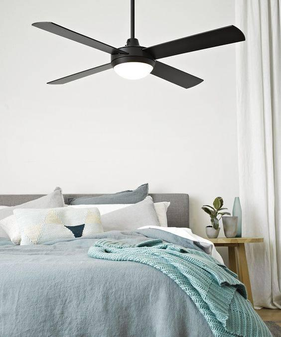 A Fan with a Light - Decorative Lights for Bedroom