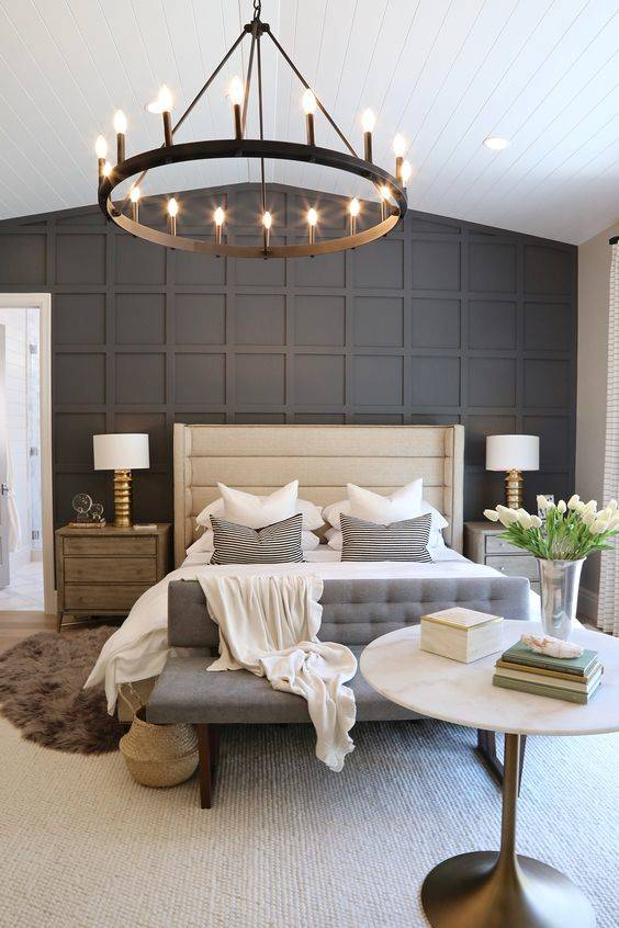 A Modern Chandelier - Best Lighting for Bedroom