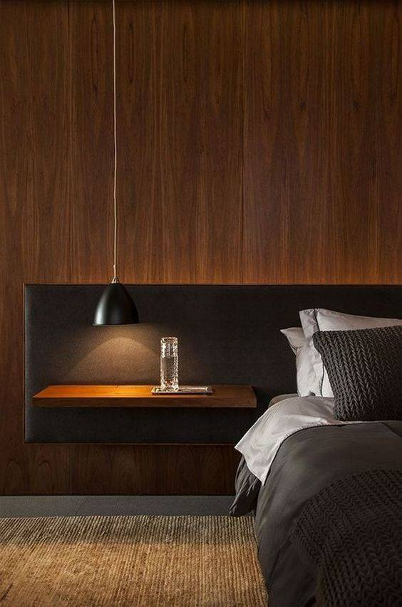 Wood and Black - A Contemporary Ambience