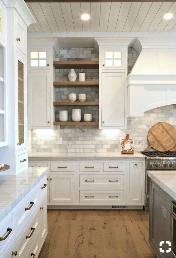 Refined in White - Kitchen Cabinet Lighting