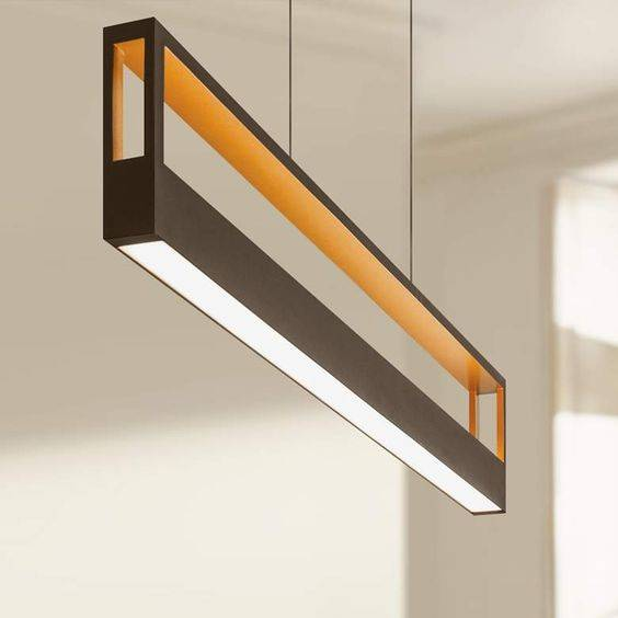 One Long Light - Modern Pendant Lighting for Kitchen Island