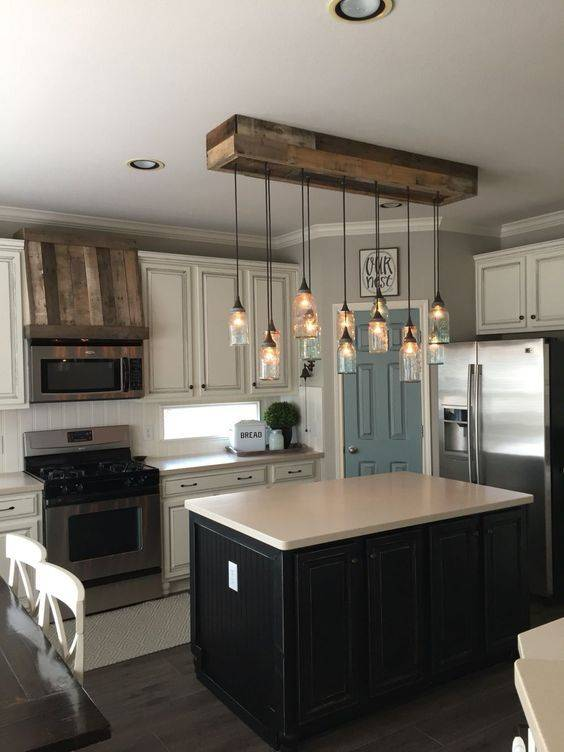 Designing Your Own Lights - Modern Kitchen Island Lighting