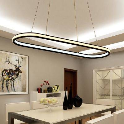 An Outstanding Oval - Modern Pendant Lighting for Kitchen Island