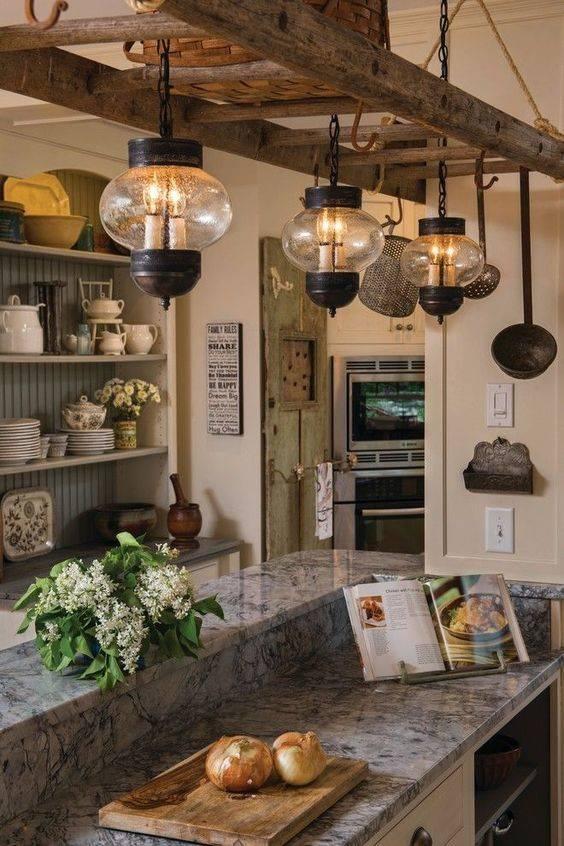 A Vintage Vibe - Modern Kitchen Island Lighting