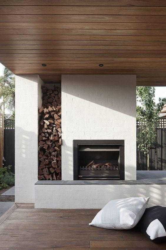 Wood and White - A Stunning Style