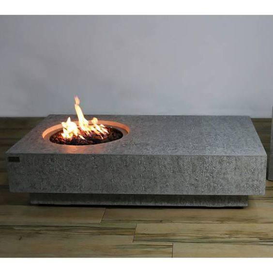 Extreme Minimalism - Brilliant and Modern Outdoor Fireplaces