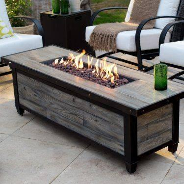 An Amazing Coffee Table - Outdoor Fire Pits