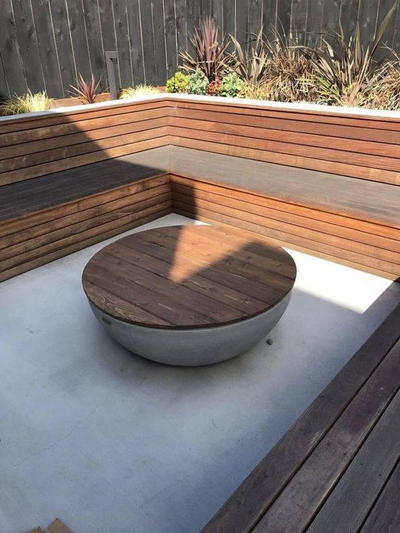 Coffee Table and Fire Pit - Convert It Easily