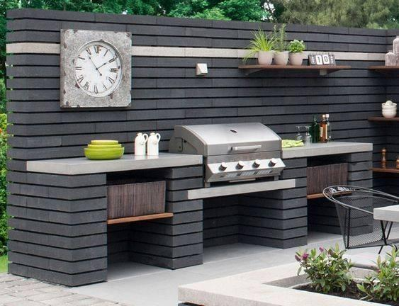 Construct a Miniature Kitchen – Outdoor Grill Island Ideas