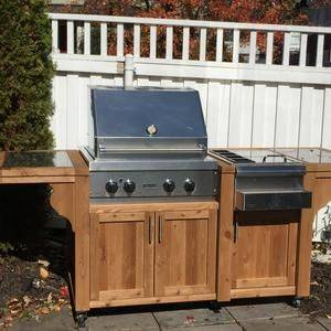 A Mobile Grill – Outdoor Grill Island Ideas