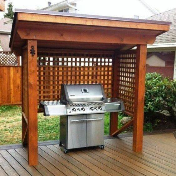 Keeping Your Grill Safe – Outdoor BBQ Area Ideas