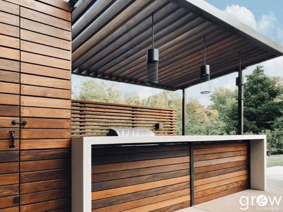 Contemporary and Stunning – Outdoor BBQ Area Ideas
