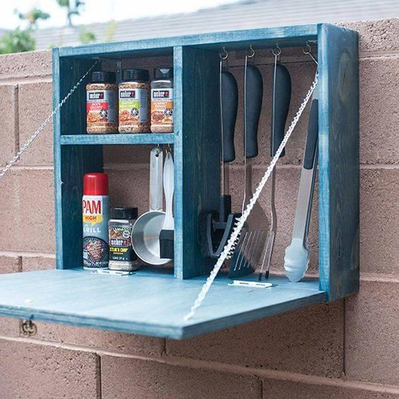 A Cabinet for Tools – Creating Storage Space