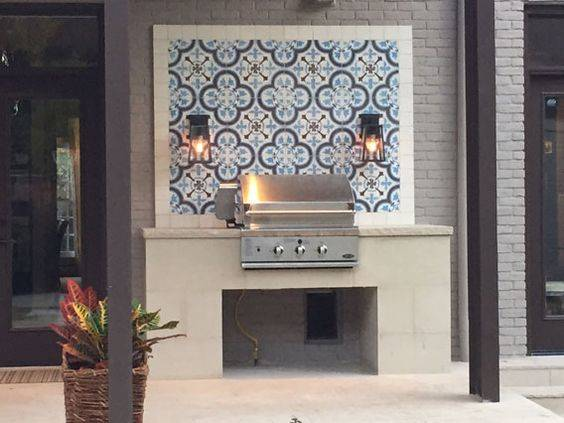 A Gorgeous Layout – Outdoor BBQ Area Ideas