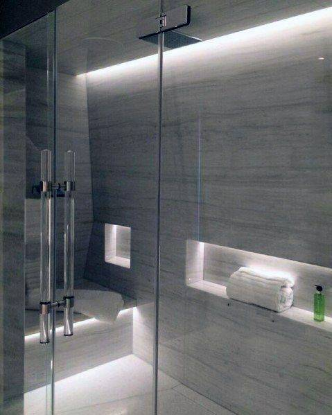 Soft and Neutral - Modern Bathroom Lighting