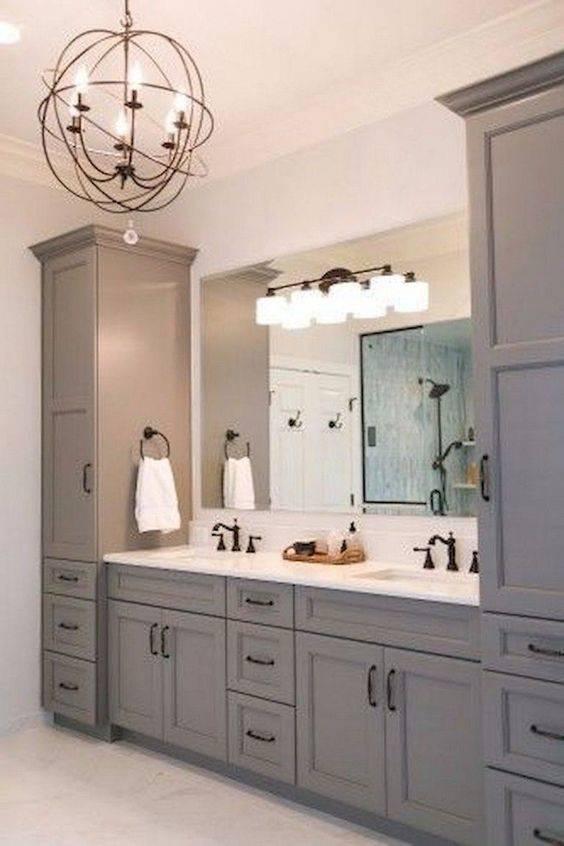 A Stunning Orb Chandelier - Best Lighting for Bathroom
