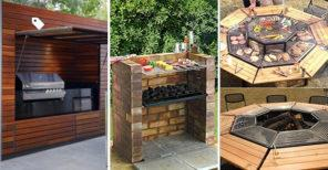 20 OUTDOOR GRILL IDEAS – Get Ready for a Barbeque