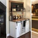 20 MODERN HOME BAR IDEAS – Living Room Bar Ideas