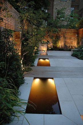 How to Light a Pond - Backyard Lighting Ideas