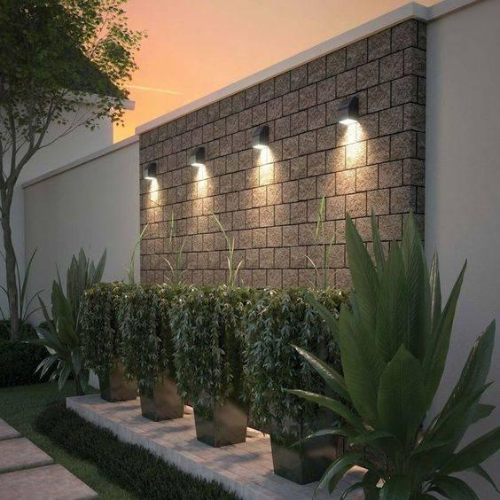 Wall Light Sources - Garden Lighting Ideas
