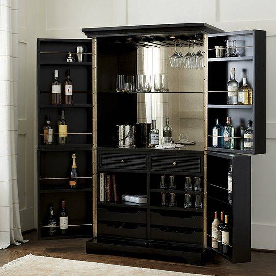Open Sesame - Fabulous Modern Home Bar Ideas