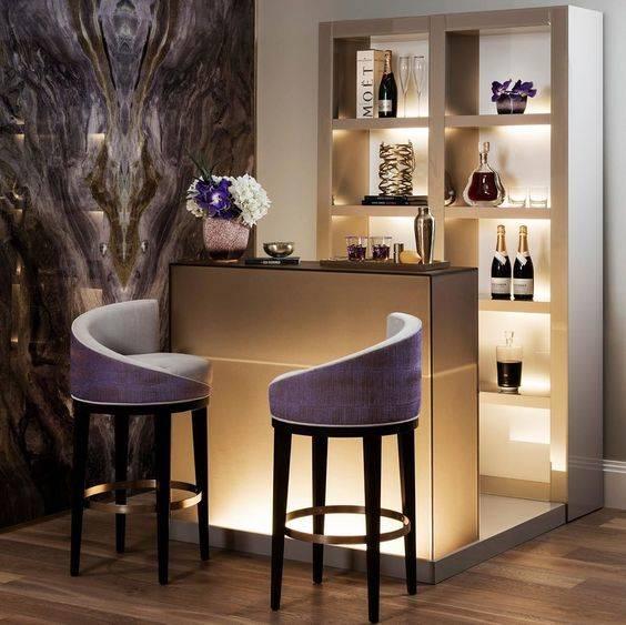 Modern and Funky - Cool Modern Home Bar Ideas