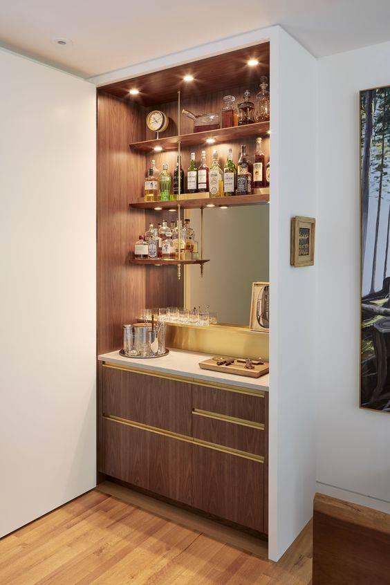 Fantastic Organisation - Living Room Bar Ideas