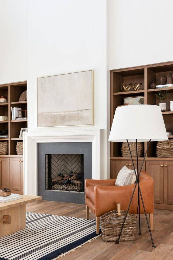 A Pretty Pattern - For the Perfect Fireplace
