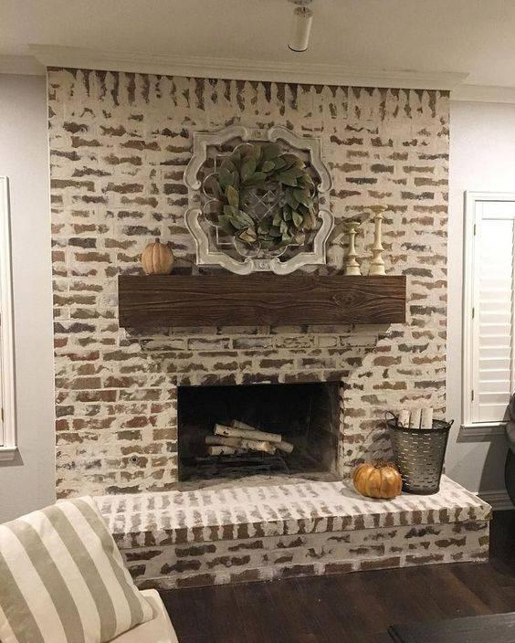 The Mortar Brick Wash - Easy and Rustic