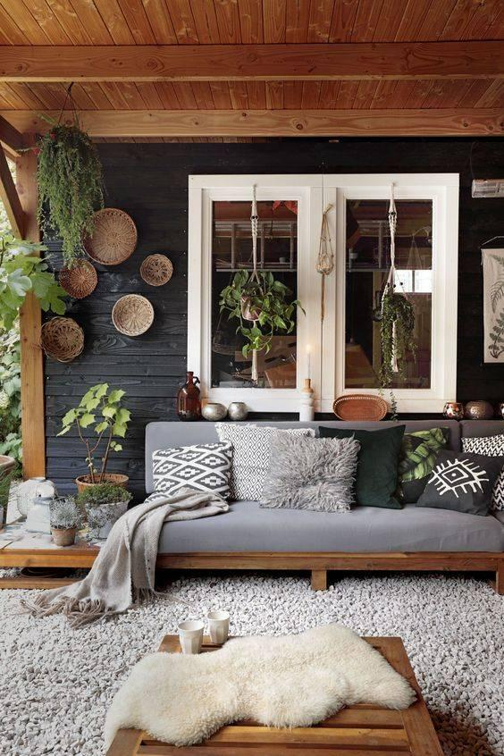 Natural and Easy - Small Front Porch Decorating Ideas on a Budget