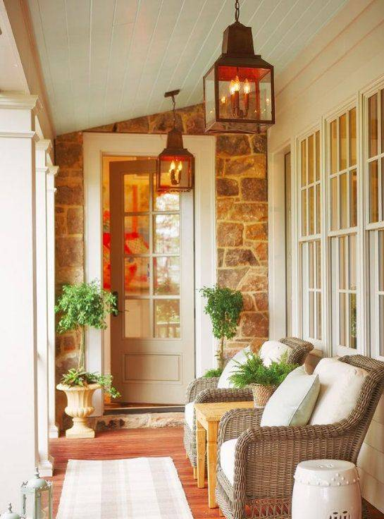 Keeping it Simple - How to Style a Porch