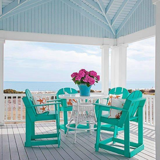 A Coastal Design - Best for a Beach Porch