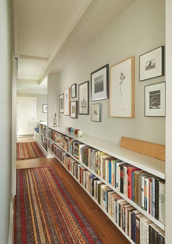 Low and Long - Easy Bookshelf Designs