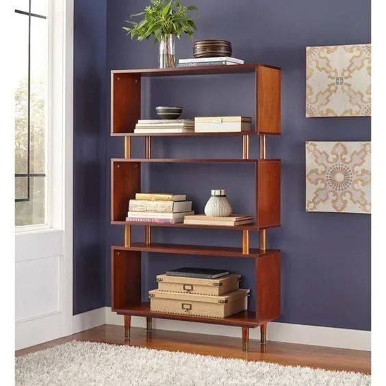 Elegant and Sophisticated - Bedroom Bookshelf Ideas
