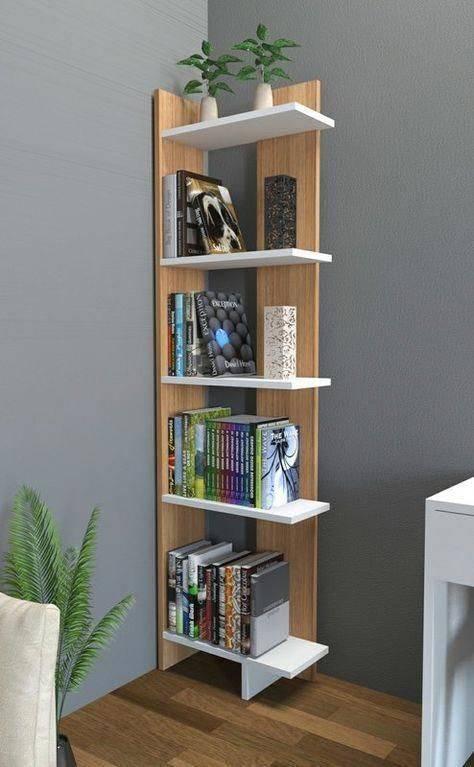 In the Corner - Clever Bookcase Designs
