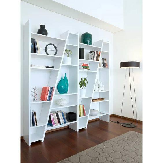 Clever in Contemporary - Bookshelf Design Ideas